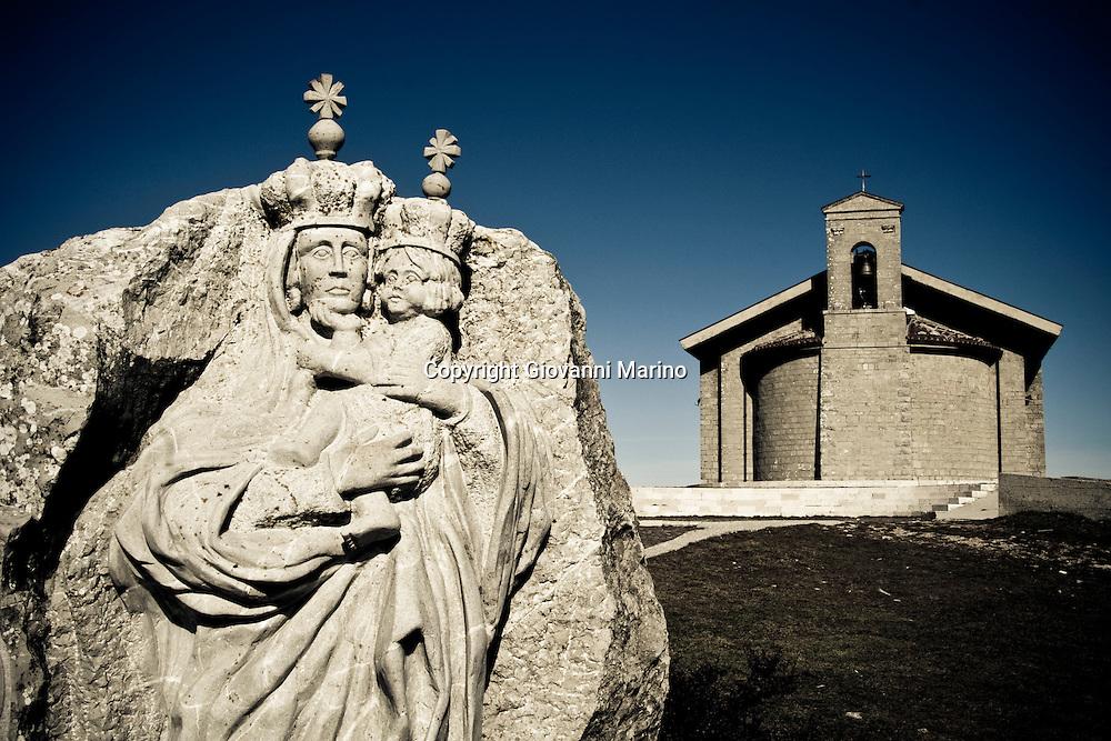 Monte Carmine di Avigliano (PZ) 24/02/2008 - Chiesa della Madonna del Carmine di Avigliano (PZ)
