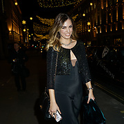 Amber le Bon attends the launch of the Aspinal of London store on Regent's Street St. James's on December 5, 2017 in London, England.