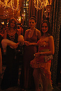 Anastasia Ausey, Joanna Allen and Marina Buldoumac. War and Peace charity Ball, Dorchester Hotel. Park Lane. London. 17 February 2005. ONE TIME USE ONLY - DO NOT ARCHIVE  © Copyright Photograph by Dafydd Jones 66 Stockwell Park Rd. London SW9 0DA Tel 020 7733 0108 www.dafjones.com