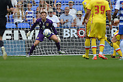 MK Dons goalkeeper David Martin during the Sky Bet Championship match between Reading and Milton Keynes Dons at the Madejski Stadium, Reading, England on 22 August 2015. Photo by Mark Davies.