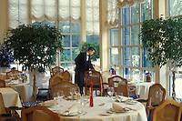 the restaurant Les Trois Marches, Versailles, France....photo by Owen Franken