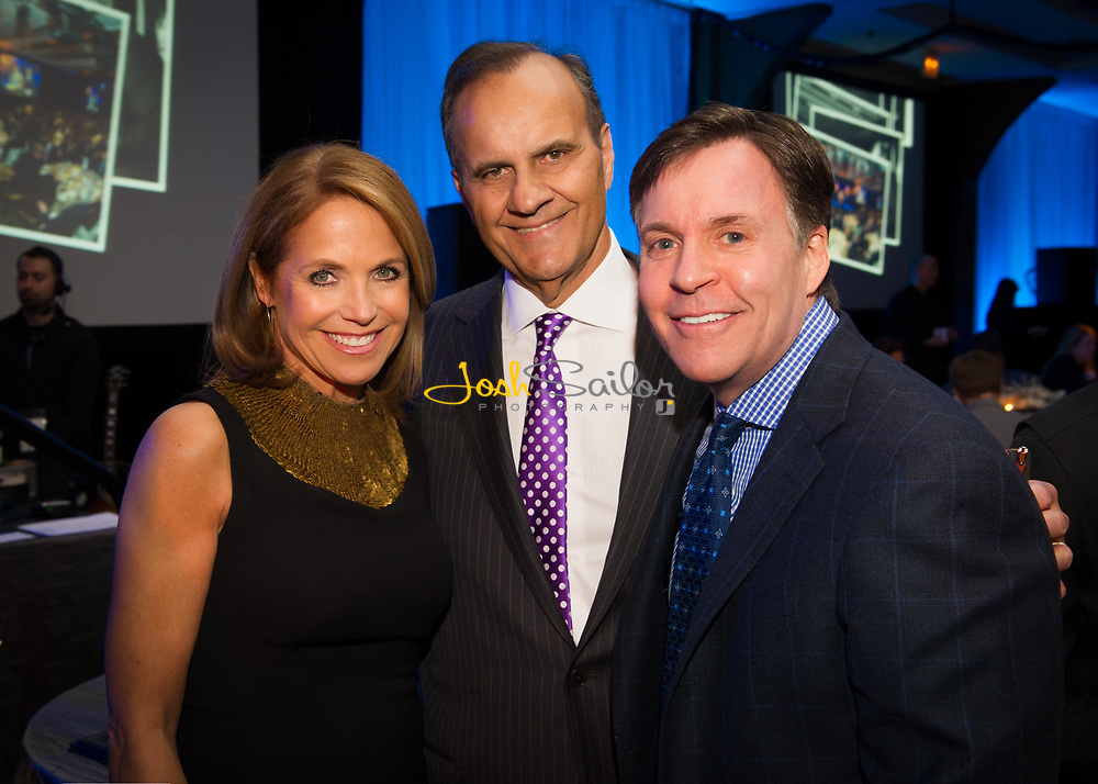 Katie Couric Joe Torre & Bob Costas
