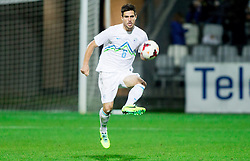 Luka Krajnc of Slovenia during football match between U21 National Teams of Slovenia and Russia in 6th Round of U21 Euro 2015 Qualifications on November 15, 2013 in Stadium Bonifika, Koper, Slovenia. Russia defeated Slovenia 1-0. Photo by Vid Ponikvar / Sportida