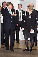 Copenhagen, 18-03-2015<br /> <br /> King Willem-Alexander and Queen Maxima of The Netherlands visits Bispebjerg Hospital in Copenhagen, Denmark,18 March 2015. The Dutch King and Queen are in Denmark for an two day state visit. <br /> <br /> <br /> Photo: Bernard Ruebsamen/Royalportraits Europe