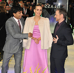"""M. Night Shyamalan at the """"Glass"""" UK film premiere, Curzon Mayfair, Curzon Street, London, England, UK, on Wednesday 09 January 2019. 09 Jan 2019 Pictured: M. Night Shyamalan and Sarah Paulson and James McAvoy. Photo credit: CAN/Capital Pictures / MEGA TheMegaAgency.com +1 888 505 6342"""