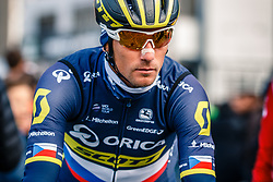KREUZIGER Roman of ORICA-Scott before the UCI WorldTour 103rd Liège-Bastogne-Liège from Liège to Ans with 258 km of racing at Liège (258 km to go), Belgium, 23 April 2017. Photo by Pim Nijland / PelotonPhotos.com | All photos usage must carry mandatory copyright credit (Peloton Photos | Pim Nijland)