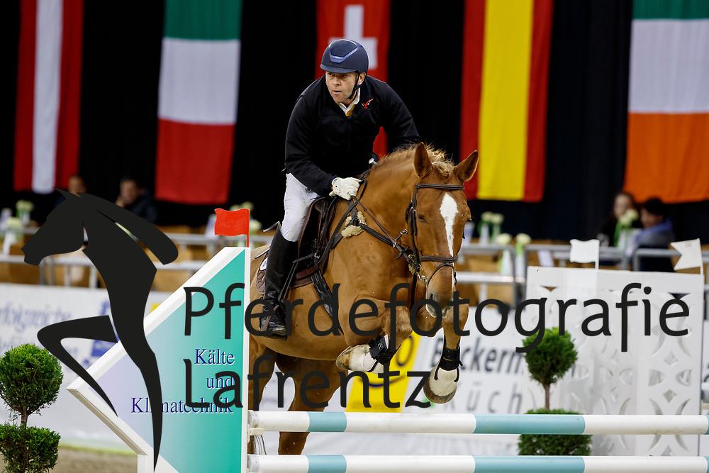 Hagstedt, Werner (GER) Unestor Ardent<br /> Oldenburg - AGRAVIS Cup 2017<br /> © www.sportfotos-lafrentz.de/Stefan Lafrentz