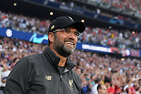 FUSSBALL CHAMPIONS LEAGUE SAISON 2018/2019 FINALE Tottenham Hotspur - FC Liverpool      01.06.2019 Trainer Juergen Klopp (FC Liverpool)