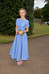 LAURA BAILEY at The Ralph Lauren & Vogue Wimbledon Summer Cocktail Party at The Orangery, Kensington Palace, London on 22nd June 2015.  The event is to celebrate ten years of Ralph Lauren as official outfitter to the Championships, Wimbledon.