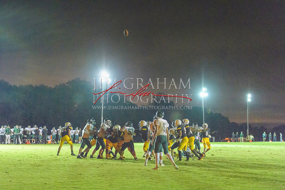 The Tatnall School plays Tower Hill School under the lights on Weymouth Field at Tatnall in Greenville, De. on Friday 30 Sept. 2016.  Photography by Jim Graham