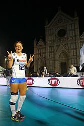 STEFANIA SANSONNA<br /> ITALIA - AZERBAIJAN<br /> AMICHEVOLE NAZIONALE ITALIANA VOLLEY FEMMINILE<br /> FIRENZE 09-09-2015<br /> FOTO GALBIATI - RUBIN