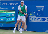 Tennis - 2017 Aegon Championships [Queen's Club Championship] - Day Three, Wednesday<br /> <br /> Men's Singles: Round of 16 _ Tomas Berdych (CZE) Vs Denis Shapovalov (CAN)<br /> <br /> Tomas Berdych (CZE) at Queens Club<br /> <br /> COLORSPORT/DANIEL BEARHAM