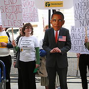 Traidcraft/Ecotube: Lobbying President Obama 24/5/11.