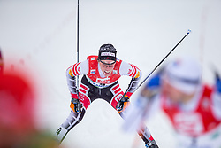 17.12.2017, Nordische Arena, Ramsau, AUT, FIS Weltcup Nordische Kombination, Langlauf, im Bild Franz Josef Rehrl (AUT) // Franz Josef Rehrl of Austria during Cross Country Competition of FIS Nordic Combined World Cup, at the Nordic Arena in Ramsau, Austria on 2017/12/17. EXPA Pictures © 2017, PhotoCredit: EXPA/ Dominik Angerer