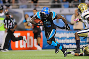 Florida Tuskers running back Dominic Rhodes (33) during his team's game against the Hartford Colonials at the Florida Citrus Bowl on November 11, 2010 in Orlando, Florida. The Tuskers won the game 41-7..©2010 Scott A. Miller