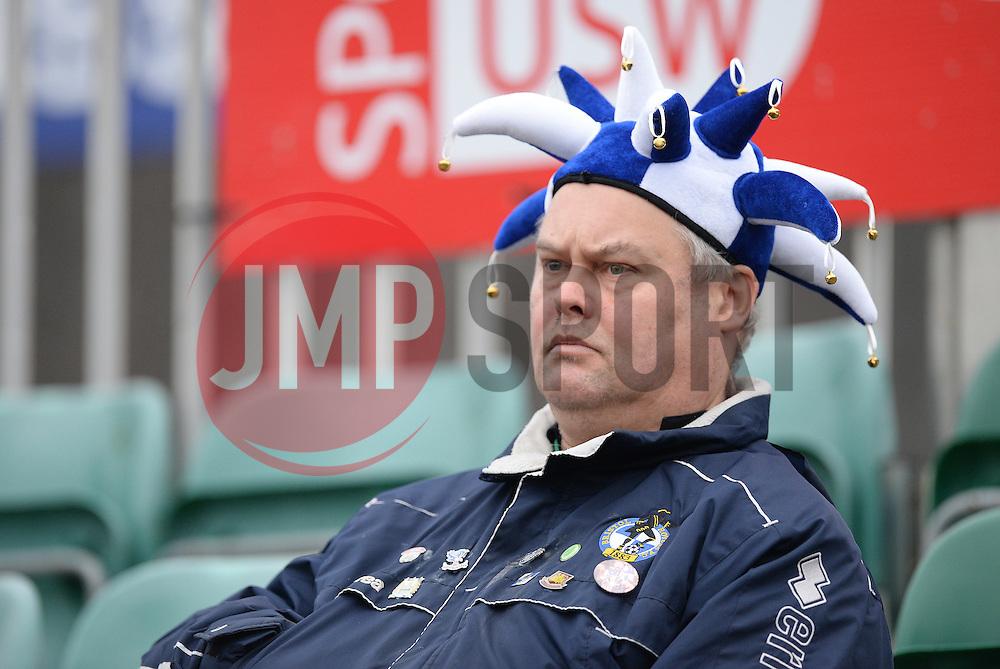 Bristol rovers fan. - Mandatory byline: Alex James/JMP - 19/03/2016 - FOOTBALL - Rodney Parade - Newport, England - Newport County v Bristol Rovers - Sky Bet League Two
