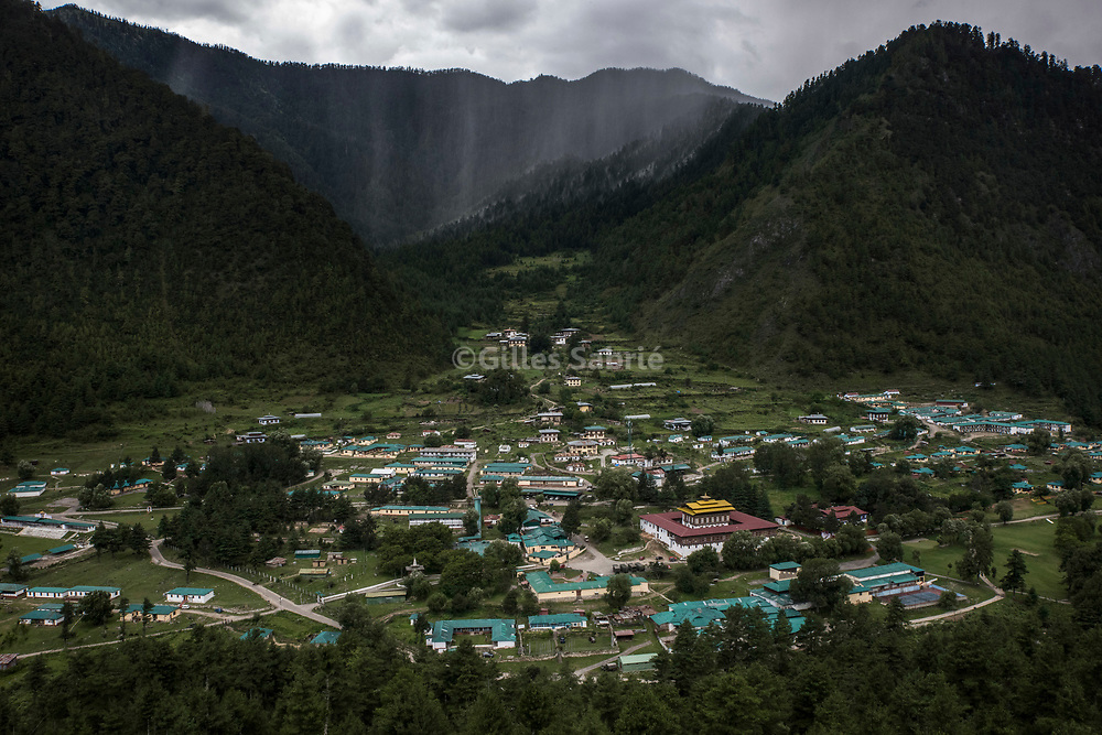 For a story by Steven Lee Myers, Bhutan<br /> Haa, Bhutan, August 3rd, 2017<br /> Headquarters of the Indian army in Haa close to a disputed border between Bhutan and China. The dispute escalated recently leading to a showdown between India and China. <br /> Gilles Sabri&eacute; pour The New York Times