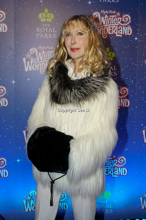 London, England, UK. 16th November 2017. Basia Briggs is an Author attend the VIP launch of Hyde Park Winter Wonderland 2017 for a preview. tomorrow is opening for the public