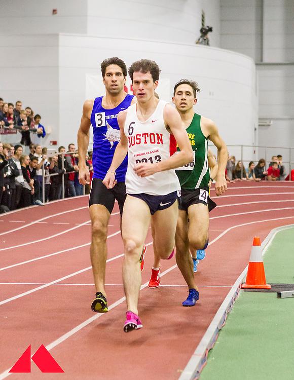 Galen Rupp set American record in 2-Mile at BU Terrier Classic Indoor Track, Gibson, Brimstein, Karwoski,