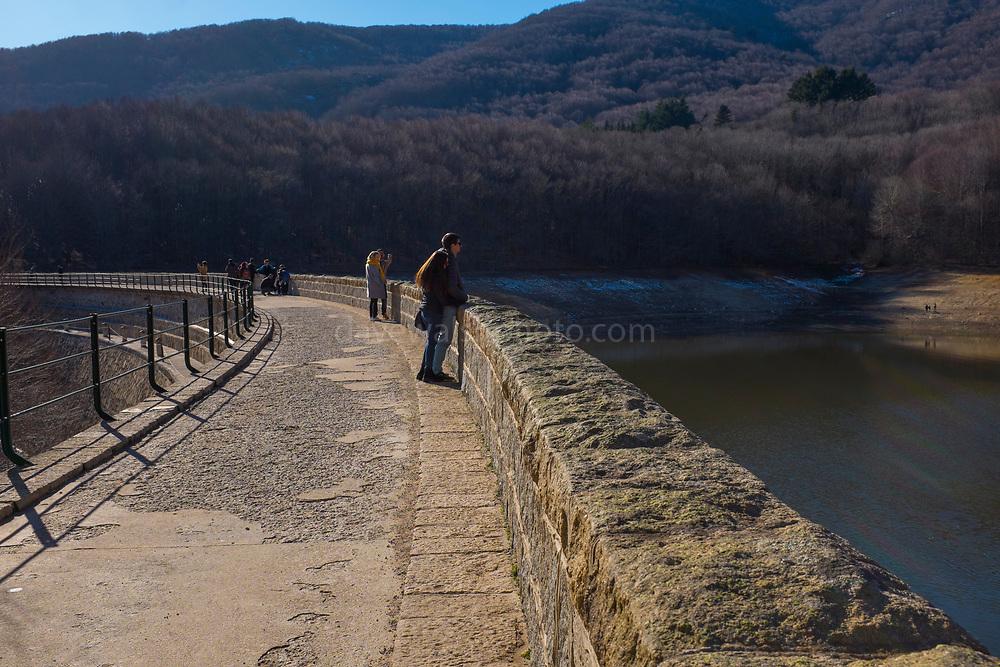 Panta de Sante Fe de Montseny, Catalonia