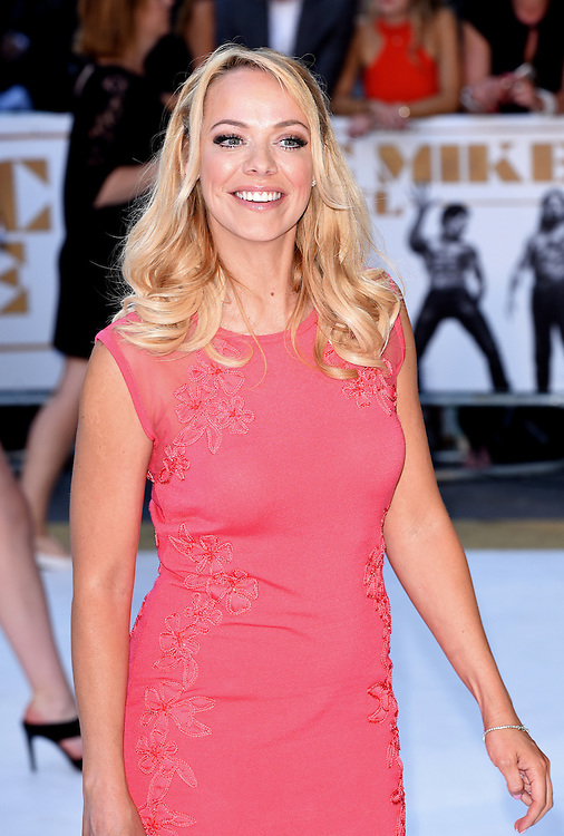 Liz McClarnon attends Magic Mike XXL European Premiere at Vue West End, Leicester Square, London  on Tuesday 30 June 2015