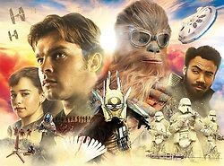 RELEASE DATE: May 25, 2018  TITLE: Solo: A Star Wars Story STUDIO: Lucasfilm DIRECTOR: Ron Howard PLOT: During an adventure into the criminal underworld, Han Solo meets his future co-pilot Chewbacca and encounters Lando Calrissian years before joining the Rebellion. STARRING: Alden Ehrenreich, Woody Harrelson, Emilia Clarke. (Credit Image: © Lucasfilm/Entertainment Pictures/ZUMAPRESS.com)