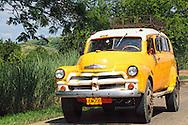 Truck in La Maya, Guantanamo, Cuba.