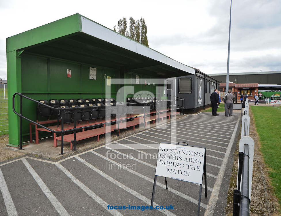 A General View of The Owen Street Sports Ground, Home of Coalville Town during The FA Cup qualifying second round match at Coalville<br /> Picture by Richard Land/Focus Images Ltd +44 7713 507003<br /> 27/09/2014
