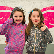 01/09/2017<br /> <br /> Pictured enjoying the Limerick Urban Food Fest, the opening event of the Pigtown Food &amp; Culture Series at the Milk Market, Limerick, are Naoise Sexton, aged 7, from Annacotty, left, and Emily Sweeney, aged 7, from Castletroy, Limerick.<br /> and Picture: Diarmuid Greene/Alan Place Photography