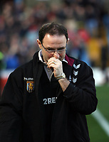 Photo: Rich Eaton.<br /> <br /> Aston Villa v Liverpool. The Barclays Premiership. 18/03/2007. Villa manager Martin O'Neill looks pensive before kick off
