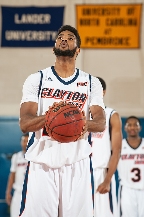 Nov. 23, 2013; Morrow, GA, USA; Clayton State player guard Craig Wong during game against Claflin at Clayton State. Photo by Kevin Liles / kevindliles.com