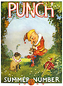 PUNCH 1920s Front Cover Cartoons