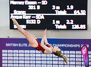 British Elite Junior Diving Championships  Day Three 040418