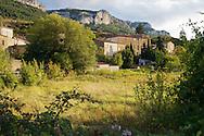 Rouffiac-des-Corbières, Village des Hautes Corbieres, Aude, France.