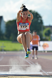 06/08/2017; Garcia Falagan, Alba, F12, ESP at 2017 World Para Athletics Junior Championships, Nottwil, Switzerland