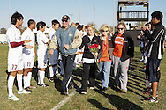 October 29, 2011: The Wayland Baptist University Pioneers play against the Oklahoma Christian University Eagles on the campus of Oklahoma Christian University.
