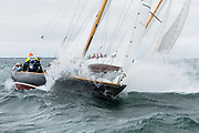 Courageous sailing in the Opera House Cup.