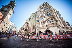 Leading group during the Men Under 23 Road Race 179.9km Race from Kufstein to Innsbruck 582m at the 91st UCI Road World Championships 2018 / RR / RWC / on September 28, 2018 in Innsbruck, Austria.  Photo by Vid Ponikvar / Sportida