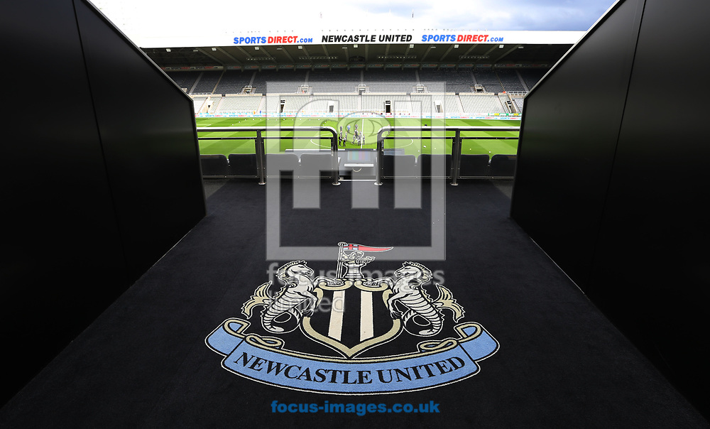A general view of St. James's Park prior to the Sky Bet Championship match at St. James's Park, Newcastle<br /> Picture by Simon Moore/Focus Images Ltd 07807 671782<br /> 01/04/2017