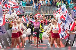 07.07.2019, Klagenfurt, AUT, Ironman Austria, Laufen, im Bild Daniela Ryf (SUI, 1. Platz) // winner Daniela Ryf (SUI) during the run competition of the Ironman Austria in Klagenfurt, Austria on 2019/07/07. EXPA Pictures © 2019, PhotoCredit: EXPA/ Johann Groder