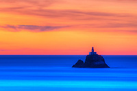 Tillamook Rock Lighthouse on Northern Oregon's Pacific Coastline.