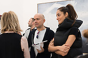 JULIA PEYTON-JONES; MARC QUIN; Yasmin Ghandehari; Yasmin Ghandehari, Frieze 2016, Regent's Park. London,