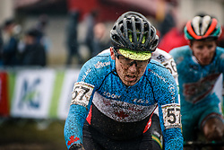 Trevor O'DONNELL of CAN during the Men Under 23 race, UCI Cyclo-cross World Championship at Bieles, Luxembourg, 29 January 2017. Photo by Pim Nijland / PelotonPhotos.com | All photos usage must carry mandatory copyright credit (Peloton Photos | Pim Nijland)