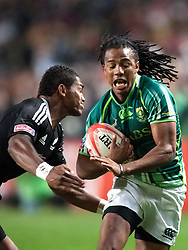 Mar 24, 2012; Hong Kong, CHINA; New Zealand defeats South Africa 19:10 during a Pool B match on day two of the 2012 IRB Hong Kong Sevens at Hong Kong Stadium.(Credit Image: © Hing Choi So/Osports via ZUMA Wire)