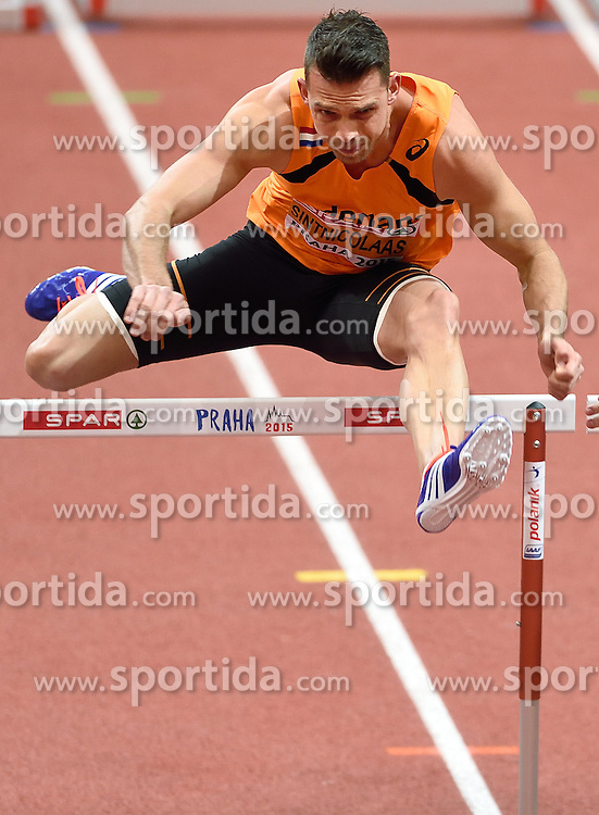 08-03-2015 CZE: European Athletics Indoor Championships, Prague<br /> Eelco Sintnicolaas NED