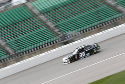 October 19, 2018 - Kansas City, Kansas, United States of America - Joey Gase (35) takes to the track to practice for the Kansas Lottery 300 at Kansas Speedway in Kansas City, Kansas. (Credit Image: © Justin R. Noe Asp Inc/ASP via ZUMA Wire)