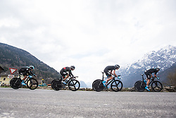 16.04.2013, Lavanterstrasse, Doelsach, AUT, Giro del Trentino, Teamzeitfahren, im Bild Team Sky Procycling // during Team time Race, of the Giro del Trentino at the Lavanterstrasse, Doelsach, , Austria on 2013/04/16. EXPA Pictures © 2013, PhotoCredit: EXPA/ Johann Groder