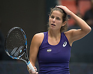Julia Goerges (GER)  during the WTA Generali Ladies Open at TipsArena, Linz<br /> Picture by EXPA Pictures/Focus Images Ltd 07814482222<br /> 11/10/2016<br /> *** UK & IRELAND ONLY ***<br /> <br /> EXPA-REI-161011-5023.jpg