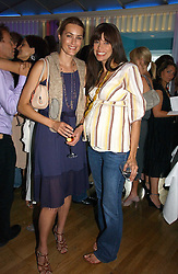 Left to right, YASMIN LE BON and LISA B at a party to celebrate the publication of 'How to Party' by Yasmin Mills with illustrations by Olympia Scarry, held at the Fifth Floor Restaurant, Harvey Nichols, Knightsbridge, London on 3rd July 2006.<br /><br />NON EXCLUSIVE - WORLD RIGHTS