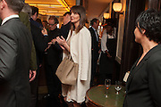 LAUREN GURVICH, Vanity Fair Lunch hosted by Graydon Carter. 34 Grosvenor Sq. London. 14 May 2013